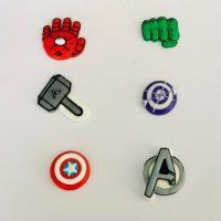 Royal Icing Sugar Edible Superheroes Toppers - Avengers