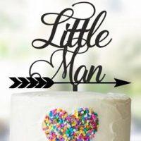 little-man-cake-topper