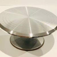 "Heavy Duty Stainless Steel turntable 12"" Round"