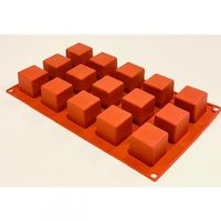 Square Shape Silicone 3cm 15 Cavity