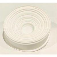 Round with swirls design Silcione Mould 19x4cm