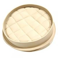 Quilted Patterned Round Silicone Mould 21cm