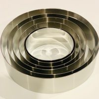Baking Mousse Rings - Various Sizes