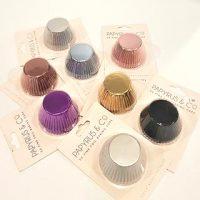 Papyrus & Co Fine Foil Baking Cups 50 Pack - Various Colours