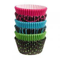 Wilton Neon Dark Baking Cups 150 Pack