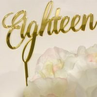 Eighteen Topper - various colours