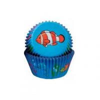 Sweet Themes Cupcake Cases - Tropical Fish