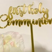 First Holy Communion - Gold