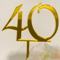 40 Acrylic Topper - various colours