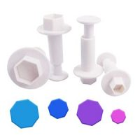 Sweetcuts Hexagon Plunger Cutters