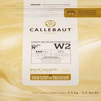 Callebaut White Couverture Chocolate 2.5kg
