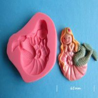 Mermaid with Starfish in Hair Mould