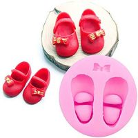 Baby Shoe with Bow Mould