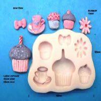 Cupcakes & Tea Party Mould
