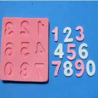 Silicone Numbers Mould