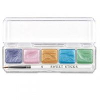 Sweet Sticks Metallic Water Activated Food Paint Palettes