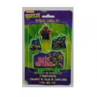 Teenage Mutant Ninja Turtles Birthday Candle set