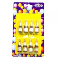 Champagne Bithday Candle