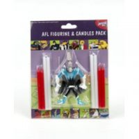 AFL Figurine & Candles Pack Port Power