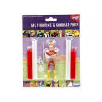 AFL Figurine & Candles Pack Gold Coast Suns