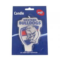 AFL Candle Western Bulldogs