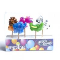 Jungle Animals Pick Candles
