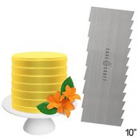 Buttercream Comb - Pleats 10""