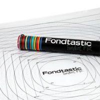 Fondtastic Fondant Mat - Small 49.5cm x 49.5cm