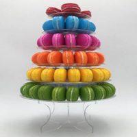 6 Tier Round Macaron Stand