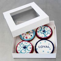 Loyal Biscuit Box 6x6x1""