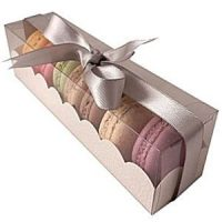 6 Macaron with Clear Lid