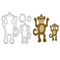FMM Mummy & Baby Monkeys