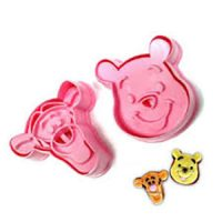 Pooh Bear & Tigger Cutter with Stamp
