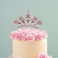 Diamante Pink Crown