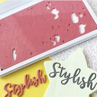 Sweet Stamps - Stylish Upper & Lower Embosser Set