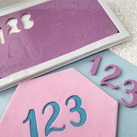 Sweet Stamps - Elegant Number Set