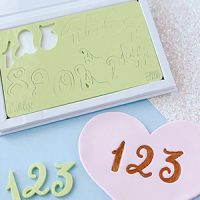 Sweet Stamps - Curly Number Set