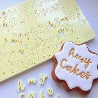 Sweet Stamps - Cookie Uppercase,Lowercase, Number & Symbol Set