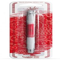 Rainbow Dust Edible Double sided Pen - Red
