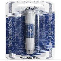 Rainbow Dust Edible Double sided Pen - Navy