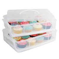 Daily Bake 24 Stackable Cupcake Carrier