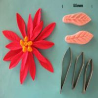 Poinsettia Cutter and Veiner