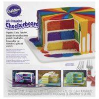 Wilton Checkerboard Square Cake Pan set