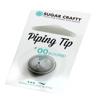 Sugar crafty Piping Tip #00 Fine Round Tip