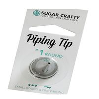Sugar crafty Piping Tip #1 Fine Round Tip