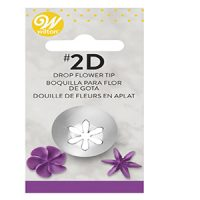 Wilton Piping Tips #2D Drop Flower Tip