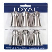 Russian Design Ruffle Ball Tips