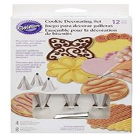 Wilton 12pc Cookie Decorating Set