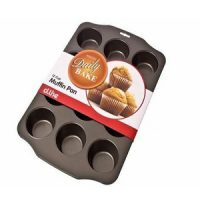 Daily Bake 12 Cup Muffin Pan 7cm
