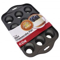 Daily Bake Mini Cheesecake Pan 12 Cup  with removable bases 5x3cm